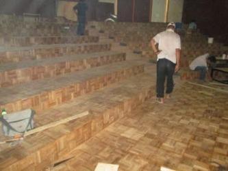 parket kayu lantai