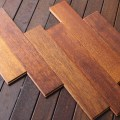 flooring kayu merbau finising UV
