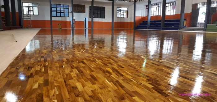 lantai kayu arena basket