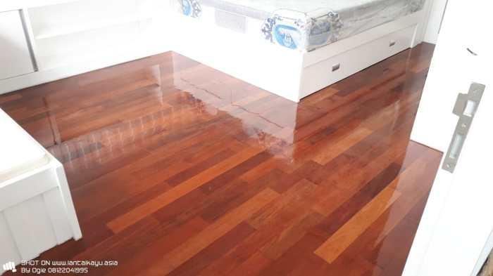 lantai kayu solid awet