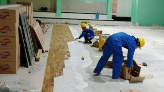Cara pasang lantai kayu