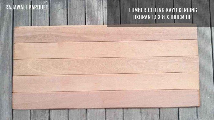 lumber ceiling kayu