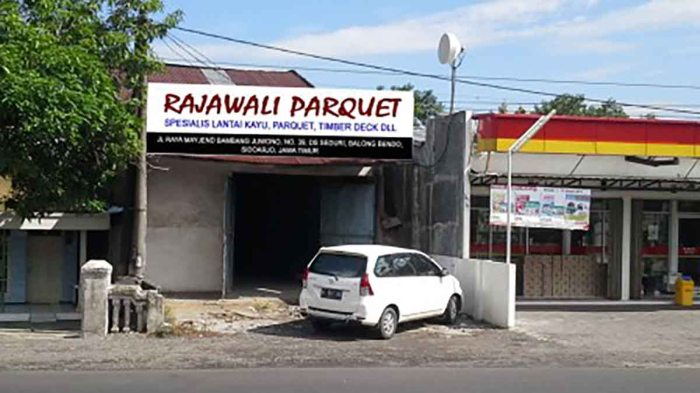 rajawali parquet Surabaya